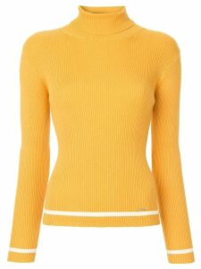 Loveless turtleneck jumper - Yellow