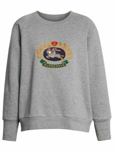 Burberry Reissued jersey sweatshirt - Grey