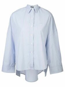R13 loose fit striped shirt - Blue