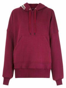 À La Garçonne oversized hoodie - PURPLE