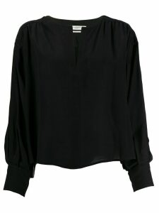 Isabel Marant Étoile long-sleeve fitted blouse - Black