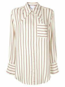 Acler Antol shirt - NEUTRALS