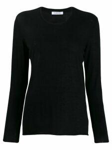 P.A.R.O.S.H. fine knit jumper - Black