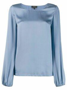 Theory satin blouse - Blue