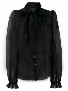 Dolce & Gabbana bow detail blouse - Black