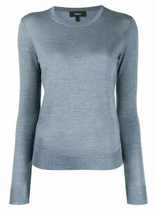 Theory crew neck jumper - Blue