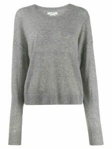 Isabel Marant Étoile round neck knitted sweater - Grey