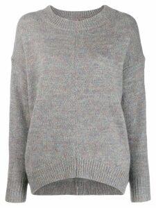 Isabel Marant Étoile loose-fit crew neck jumper - Grey