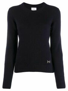 Barrie Round neck cashmere jumper - Blue
