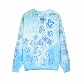 Collina Strada Sporty Spice Printed Cotton-blend Sweatshirt