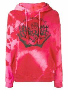 Ashley Williams Precious tie-dye hooded sweatshirt - PINK