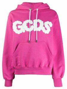Gcds cloud logo hooded sweatshirt - PURPLE