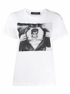 Frankie Morello David Bowie print T-shirt - White
