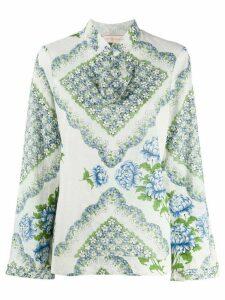 Tory Burch floral print blouse - White