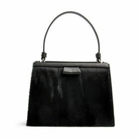 OSTWALD Finest Couture Bags - Turtle Edge Small In Nero-Black