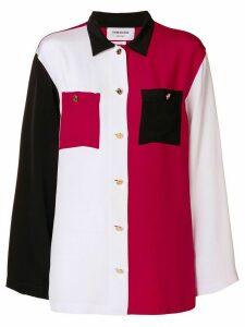 Thom Browne polo collar pajama shirt - Multicolour