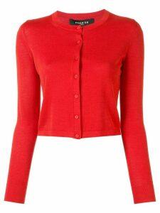Paule Ka knitted long sleeve cardigan - Red