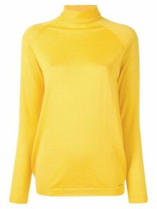 Kiton turtleneck relaxed-fit jumper - Yellow